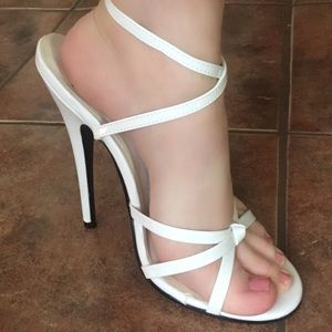 """6"""" Strappy Pumps by Pleaser Heels"""